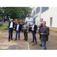 VSM FDP Delegation besucht VSM Mitglied Hegemann Werft